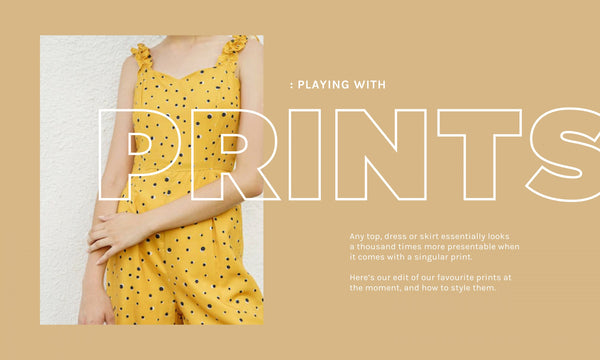 Playing with Prints: Liven up your Wardrobe