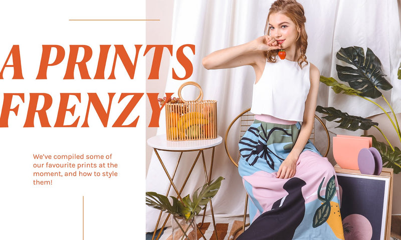 A PRINTS FRENZY – 5 PRINTED ITEMS & HOW TO WEAR THEM