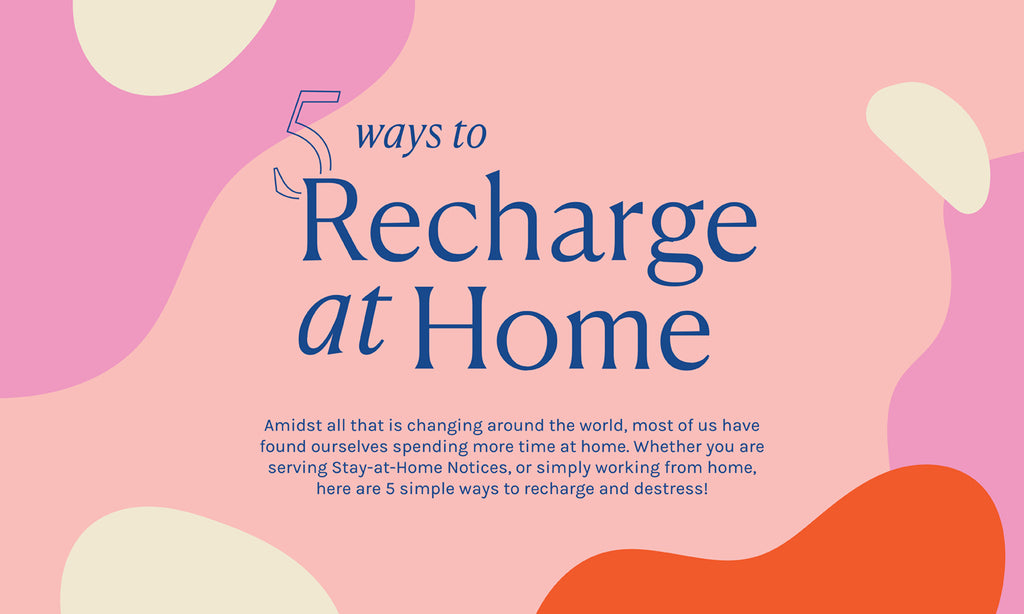 ✨ 5 Ways to Recharge at Home ✨