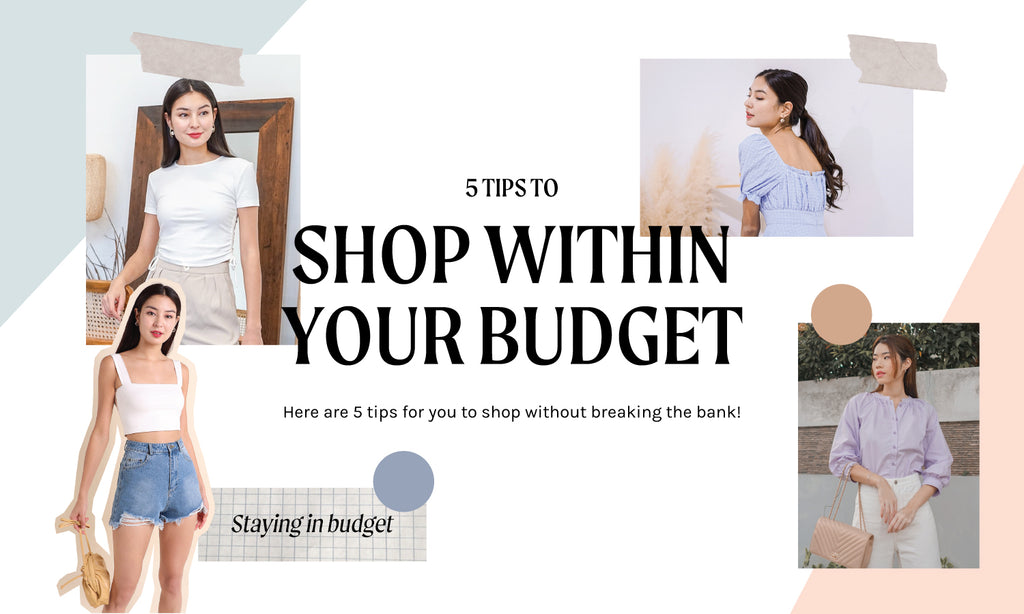 HOW TO SHOP WITHOUT BREAKING YOUR BUDGET? ✿♥‿♥✿