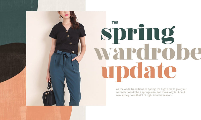 The Spring Wardrobe Update: Your Work Outfits Checked ✔
