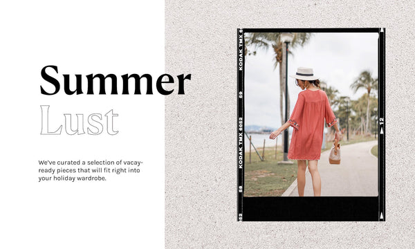 SUMMERLUST: 4 EASY-BREEZY OUTFITS TO WEAR ON HOLIDAY