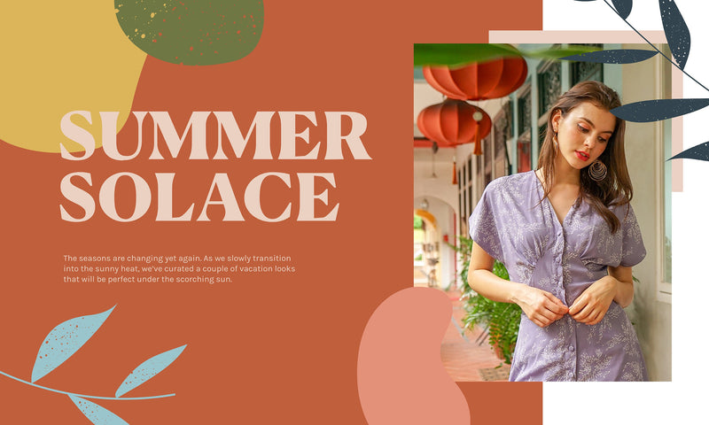 Summer Solace: 3 Styles for your Vacation Trips!