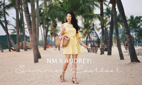 NM X AUDREY: Summer's out, time to play! 🌞