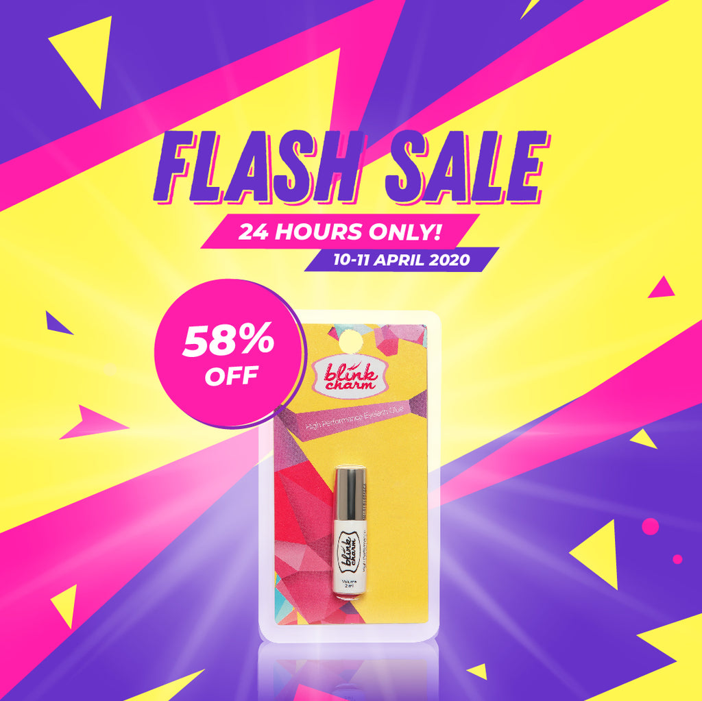 ** FLASH SALE ** White Brush-on Lash Glue 2 ml