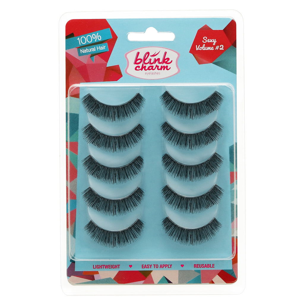 Blink Charm Eyelashes Sexy Volume #2 - 5 Pair