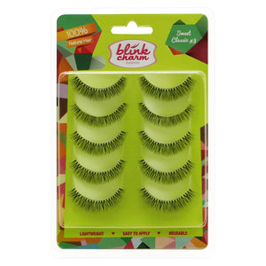 Blink Charm Eyelashes Sweet Classic #3 - 5 Pair