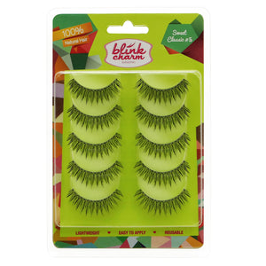 Blink Charm Eyelashes Sweet Classic #5 - 5 Pair