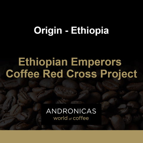 Ethiopian Emperors Coffee Red Cross Project
