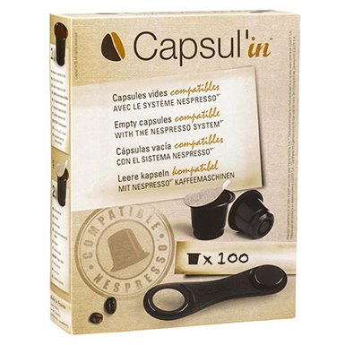 Capsul'in® Empty Coffee Capsules - NEW! -