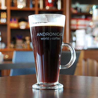 Andronicas Coffee Original Coffee Glass