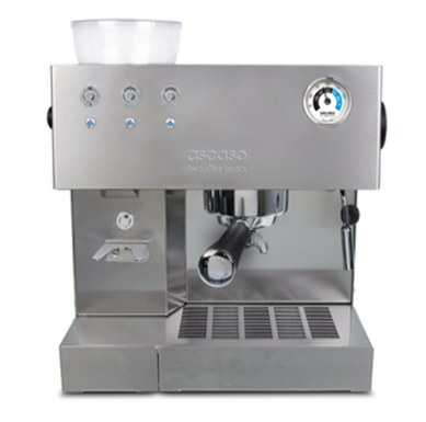 Ascaso i-steel grinder and coffee machine