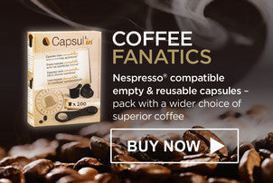 Buy Nespresso compatible reusable coffee capsules