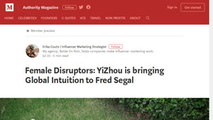 Female Disruptors YiZhou is bringing Global Intuition to Fred Segal