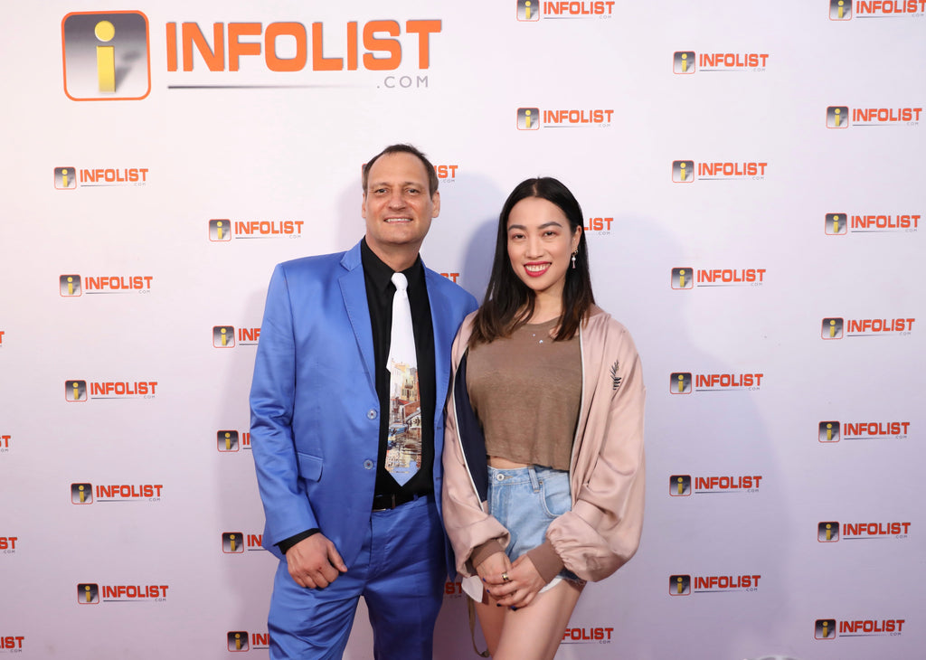 Founder of Global Intuition, Yi Zhou, Attends Star-Studded INFOLIST Pre-Emmys Soiree