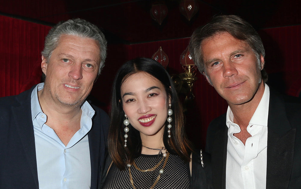 YiZhou and Prince Emanuele Filiberto di Savoia Celebrated Coachella with Global Intuition and Remy Martin at Raspoutine in West Hollywood