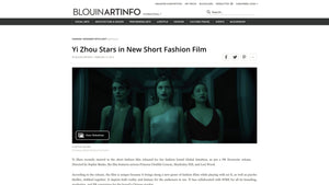 Yi Zhou Stars in New Short Fashion Film _ BLOUIN ARTINFO