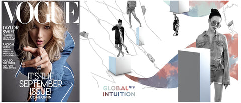 Global Intuition launches new ad in Vogue USA Fall Fashion Issue (Taylor Swift on Cover)