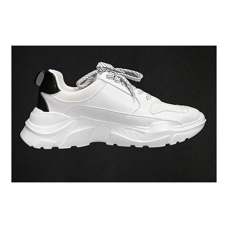 Men's Athletic Sneakers- White