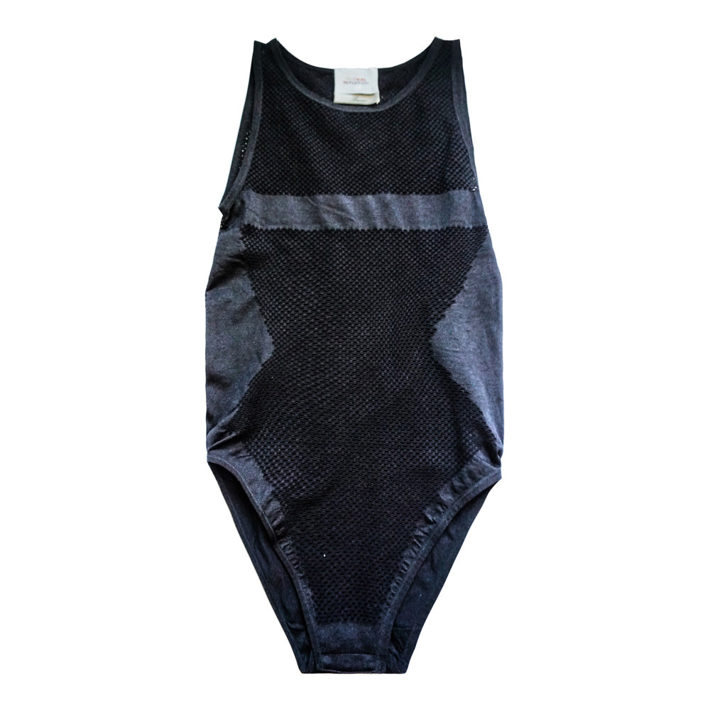 INTUITION BLACK MESH BODYSUIT