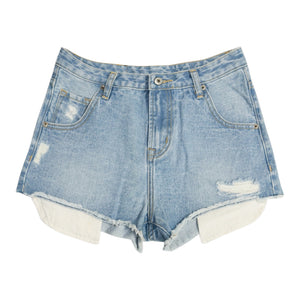 Intuition Distressed Fray Shorts