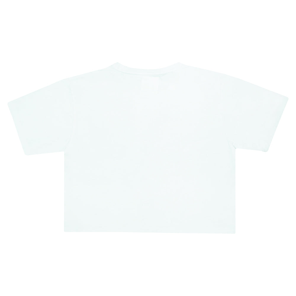 """Royal House of Savoy"" Cropped White T-shirt"