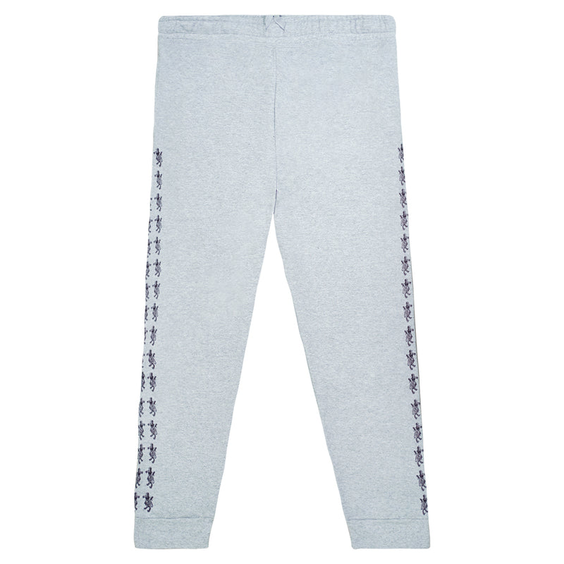 """Lions"" Light Grey Graphic Sweatpants"