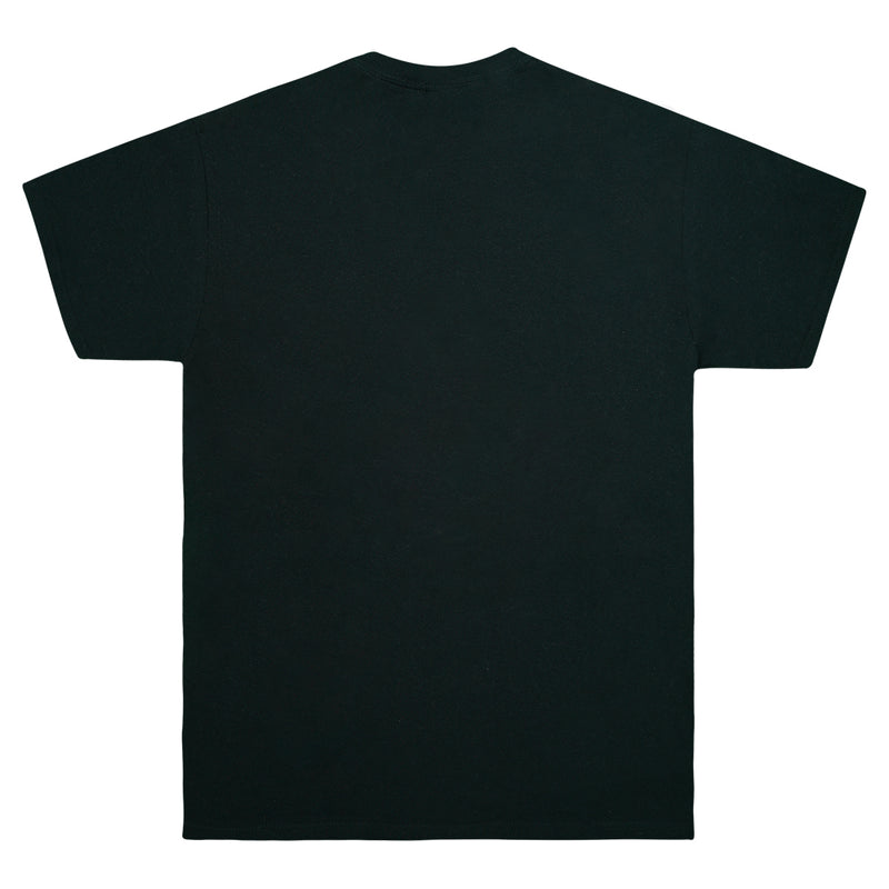 """Savoy"" Black Graphic T-shirt"