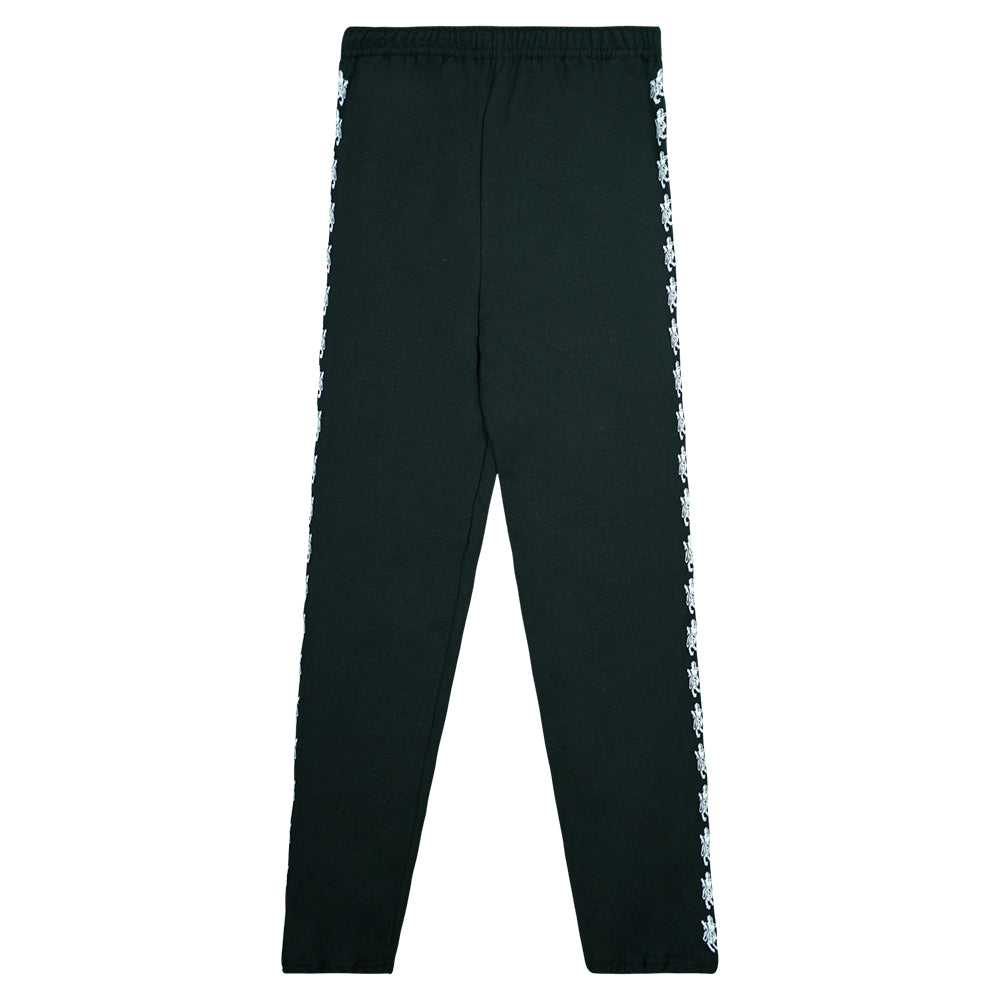 """Lions"" Black Graphic Sweatpants"