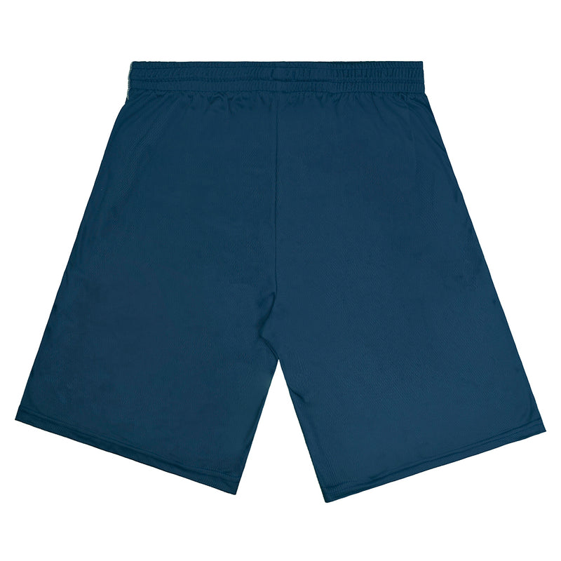"""Lions"" Navy Graphic Shorts"