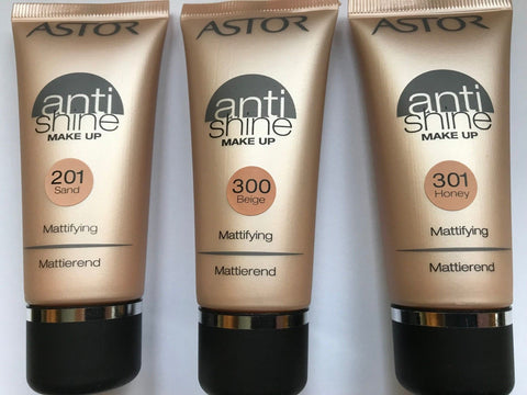 Astor Anti-shine Mattifying Make Up 30ml  in 3 shades[Beige 300]