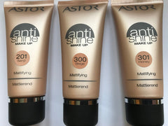 Astor Anti-shine Mattifying Make Up 30ml  in 3 shades[Sand 201]