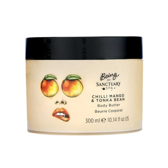 Being by Sanctuary Spa Body Butter 300ml - Choose From 5 Fragrances[Chili Mango & Tonka Bean]