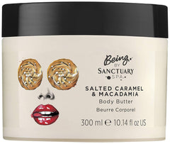 Being by Sanctuary Spa Body Butter 300ml - Choose From 5 Fragrances[Salted Caramel & Macadamia]