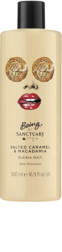 Being by Sanctuary Spa Bubble Bath 500ml - Choose From 4 Fragrances[Salted Caramel & Macadamia]