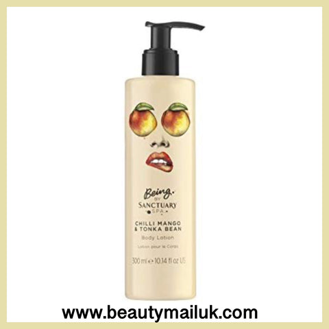 Being by Sanctuary Spa Chilli Mango and Tonka Bean Body Lotion, 300 ml