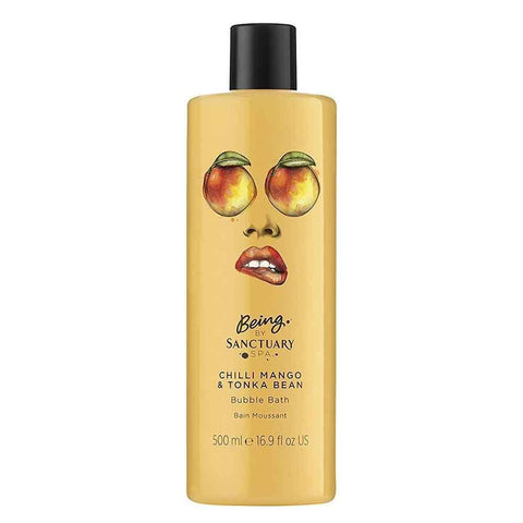 Being by Sanctuary Spa Chilli Mango and Tonka Bean Bubble Bath, 500 ml