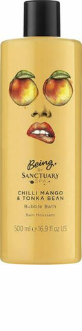 Being by Sanctuary Spa Chilli Mango and Tonka Bean Shower Burst, 200 ml