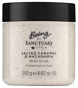 Being by Sanctuary Spa Salted Caramel and Macademia Body Scrub, 250 g