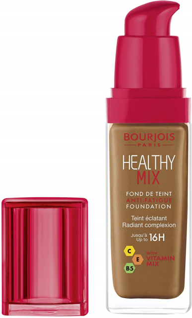 Bourjois Healthy Mix 16H Foundation Choose From 5 Shades[Cappuccino 62]