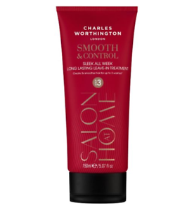 Charles Worthington Smooth & Kontrolle Sleek alle Woche Long Lasting Leave In Treatment X 150 ml