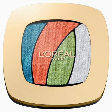 L'Oreal Paris Color Riche Les Ombres Quad Eyeshadow[Tropical Tutu S4]