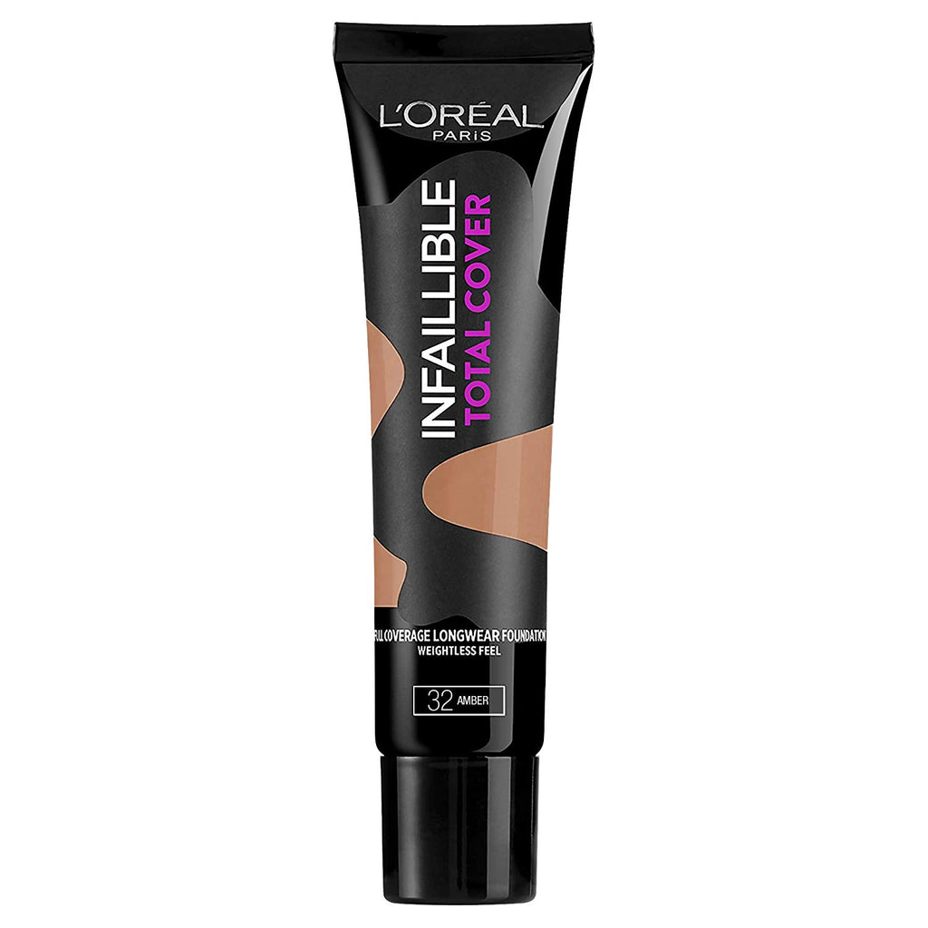 L'Oreal Paris Infallible Total Cover Foundation 35g[Amber 32]