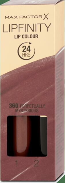 MAX FACTOR LIPSTICK COLOR 360 Perpetually Mysterious Lipfinity
