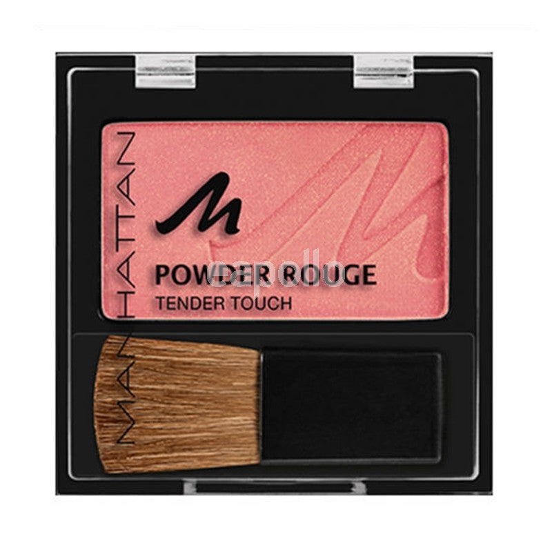 Manhattan Powder Rouge Tender Touch Blusher Choose From 6 Shades[Fresh Peach 53N]