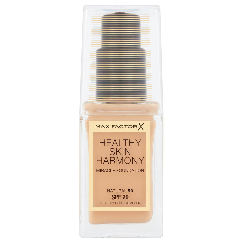 Max Factor Healthy Skin Harmony Foundation SPF20 Choose from 10 shades[Natural 50]