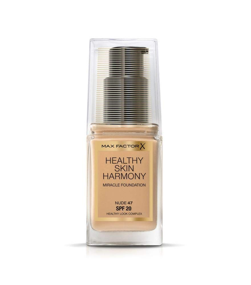 Max Factor Healthy Skin Harmony Foundation SPF20 Choose from 10 shades[Nude 47]