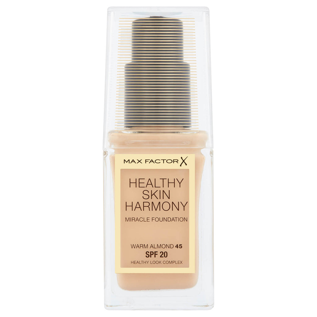 Max Factor Healthy Skin Harmony Foundation SPF20 Choose from 10 shades[Warm Almond 45]