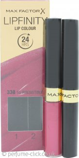 Max Factor Lipfinity 338 So Irresistible, 1er Pack (2 x 2 ml)
