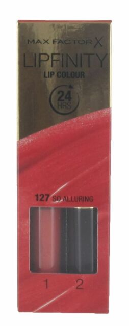 Max Factor Lipfinity Lip Colour 24 Hrs Choose from 12 shades[So Alluring 127]